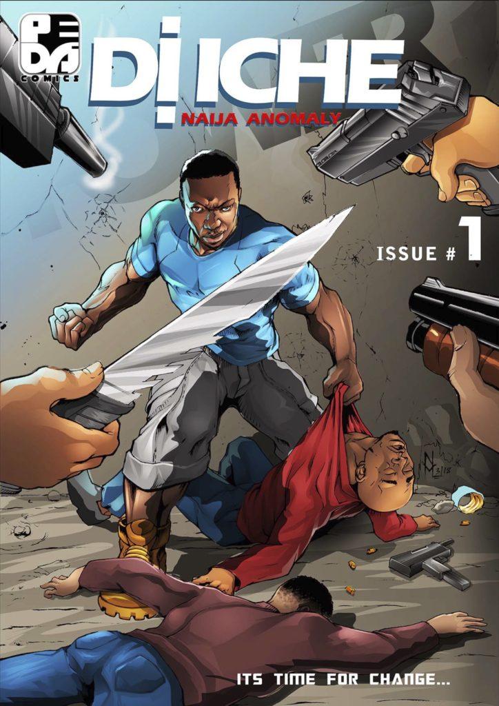 di iche african comic