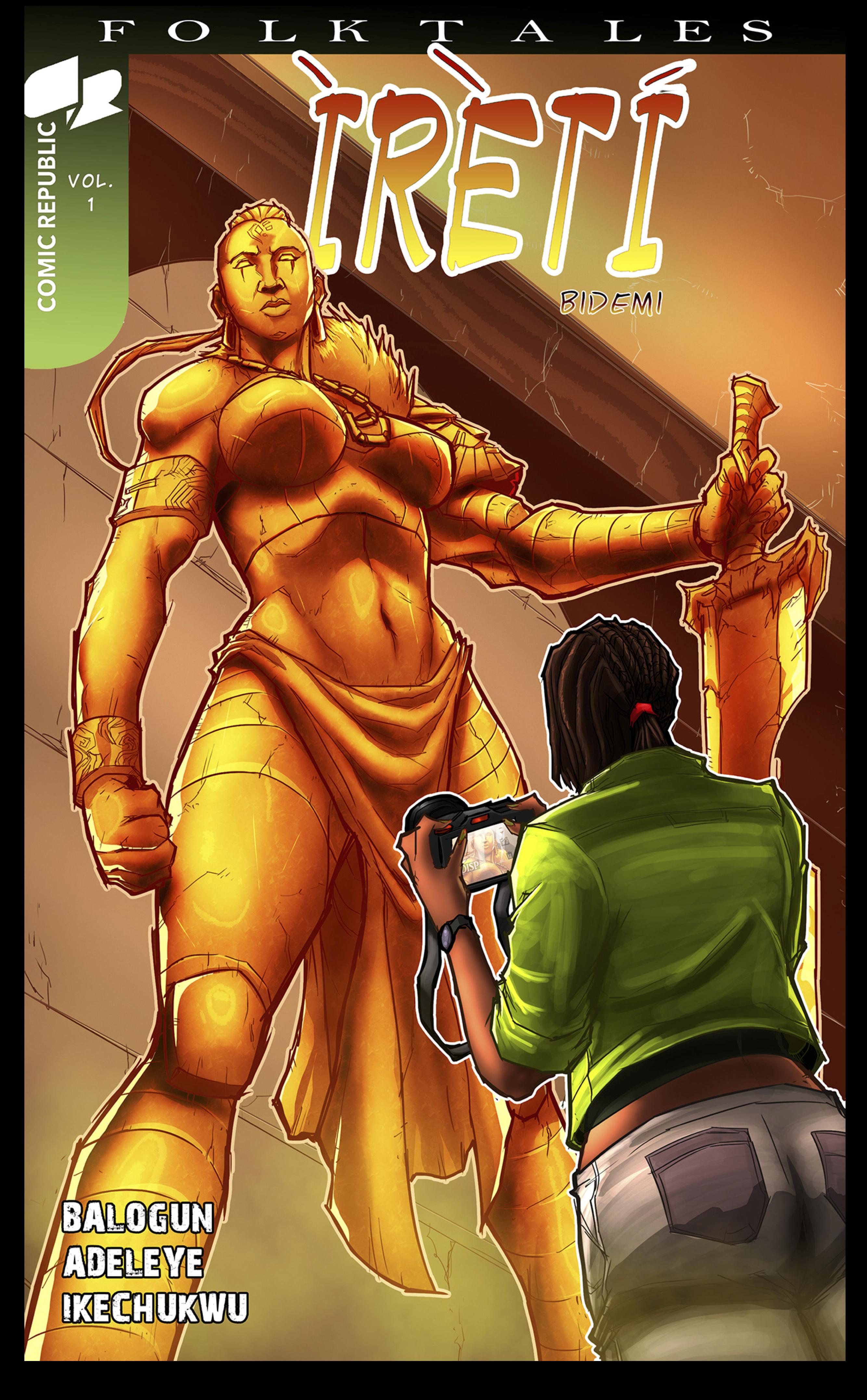 Cover of Ireti Bidemi issue 2