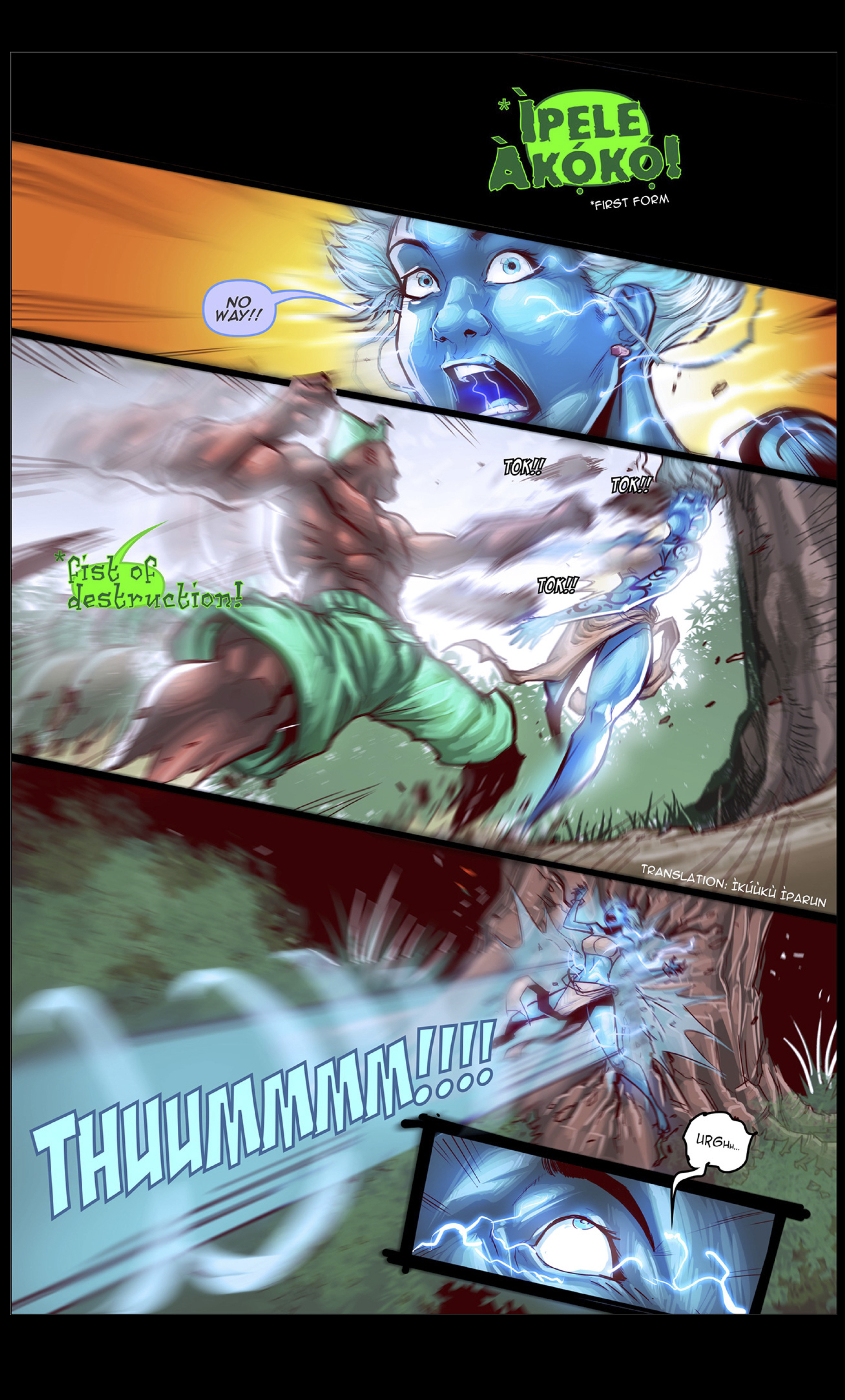 Action page from Visionary Ascension