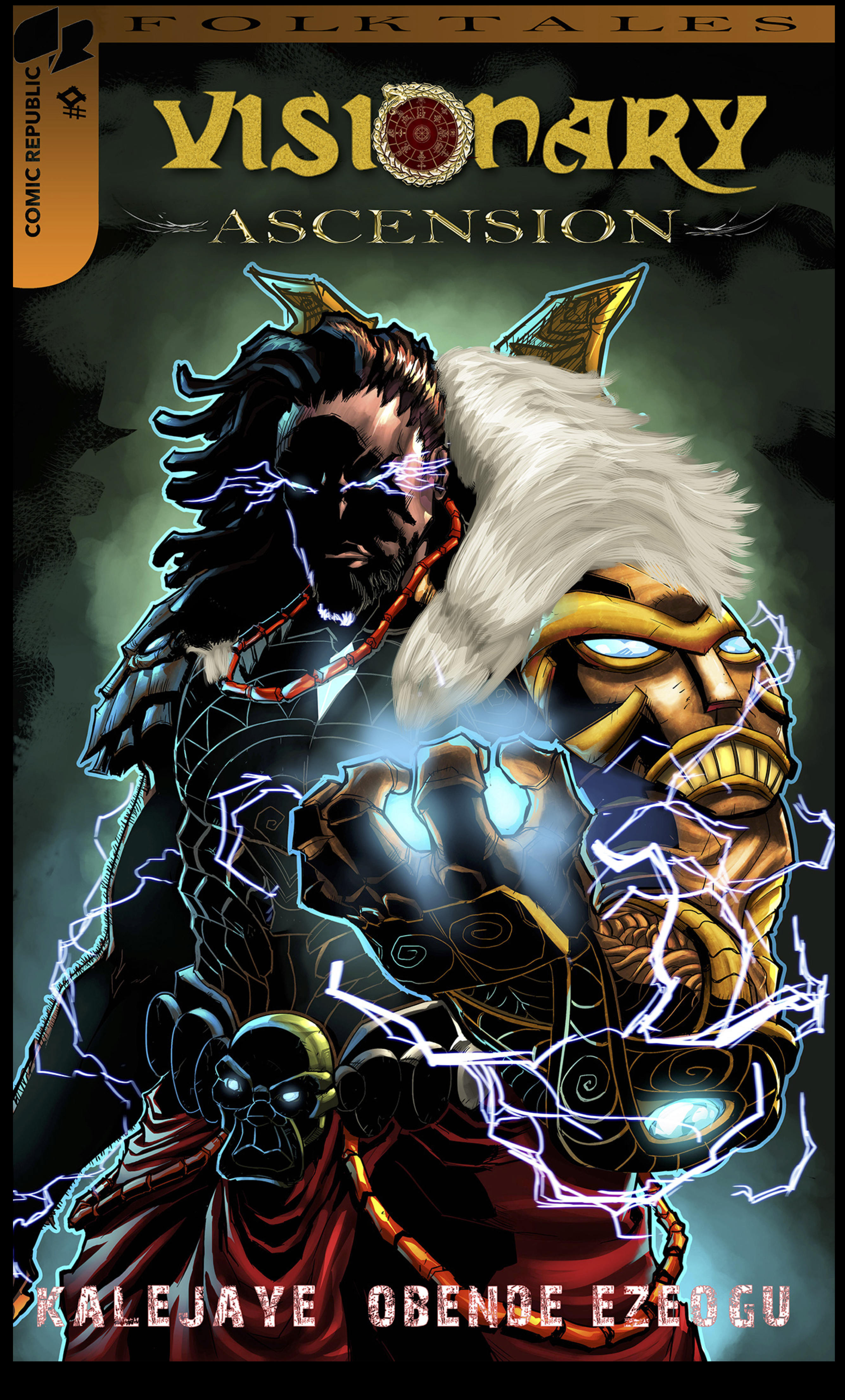 Cover of Visionary Ascension, an African comic published by Comic Republic