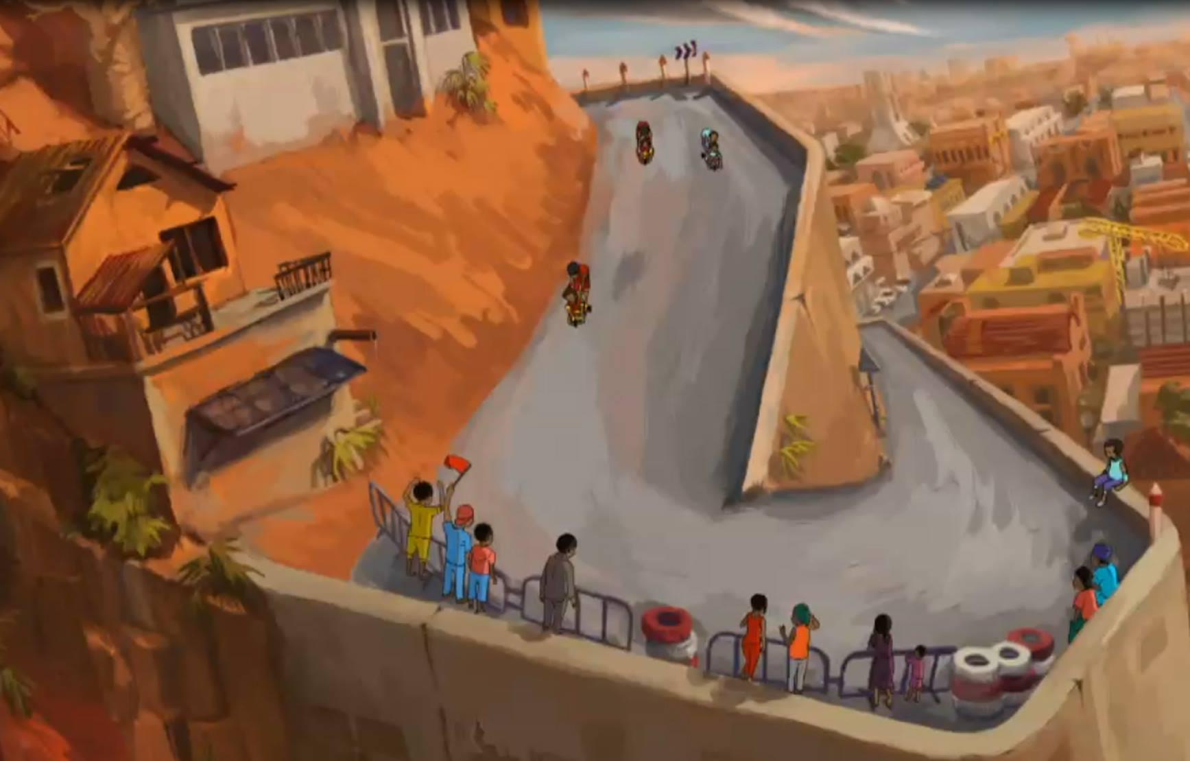 scene from afrogames