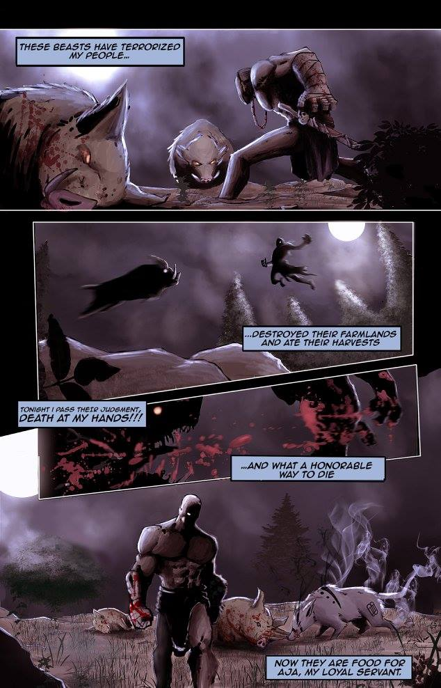 Page from Oro by MAD! Comics