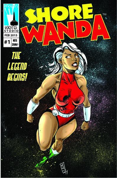 Shore Wanda by Movin Were classic African comic cover