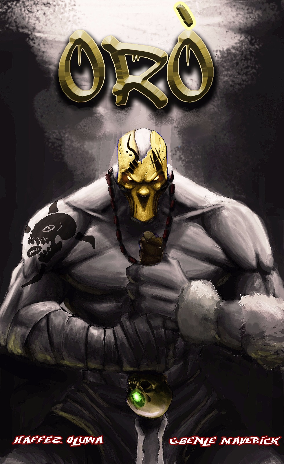 Oro by Mad! Comics. Written by Hafeez Oluwa, art by Gbenle Maverick