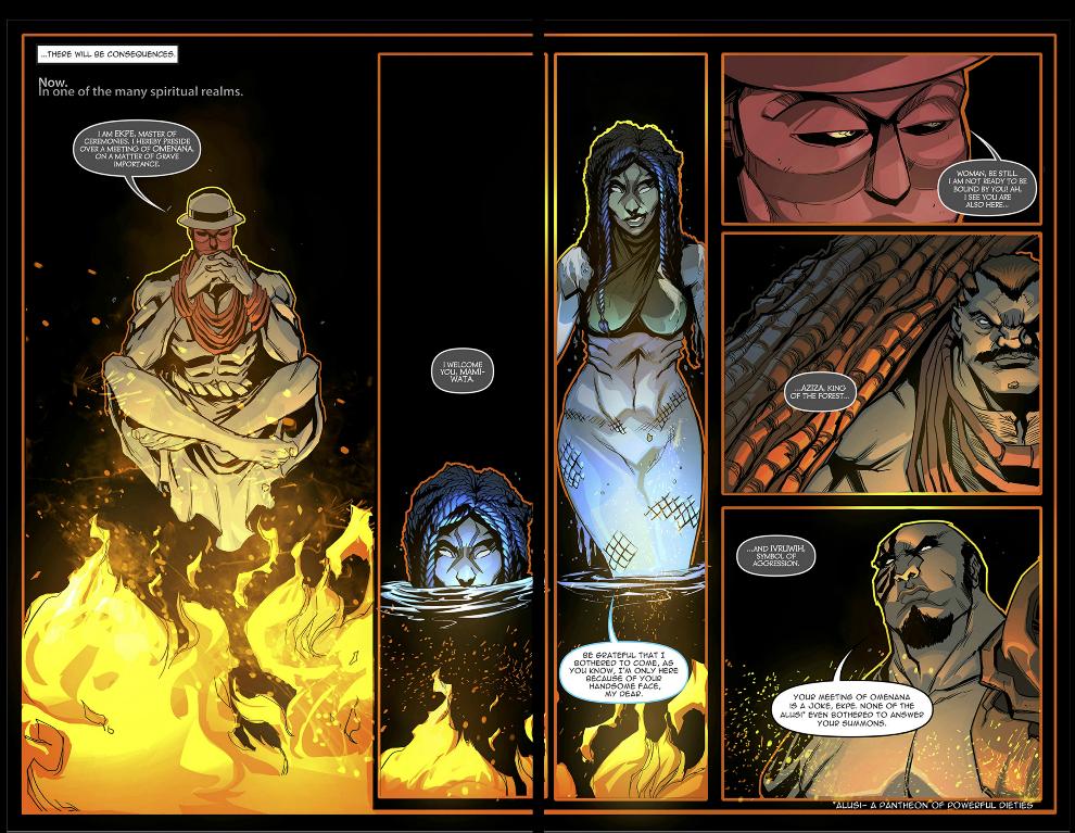 Guardian Prime #8 – Never Disrespect the Gods!