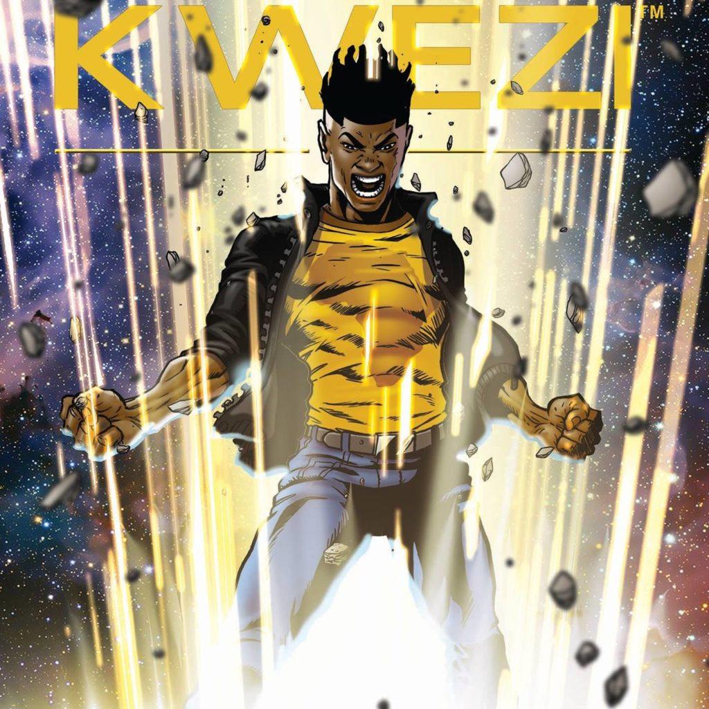 Kwezi South African superhero comic by Loyiso Mkize