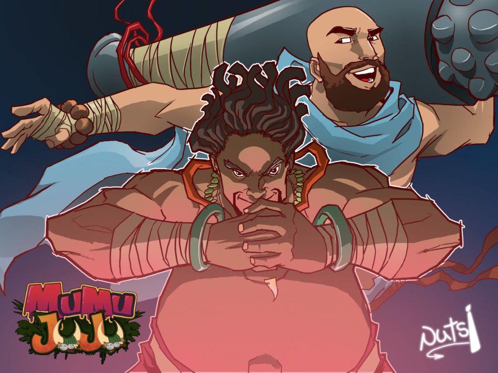 Mumu Juju fan art by Stanley Obende