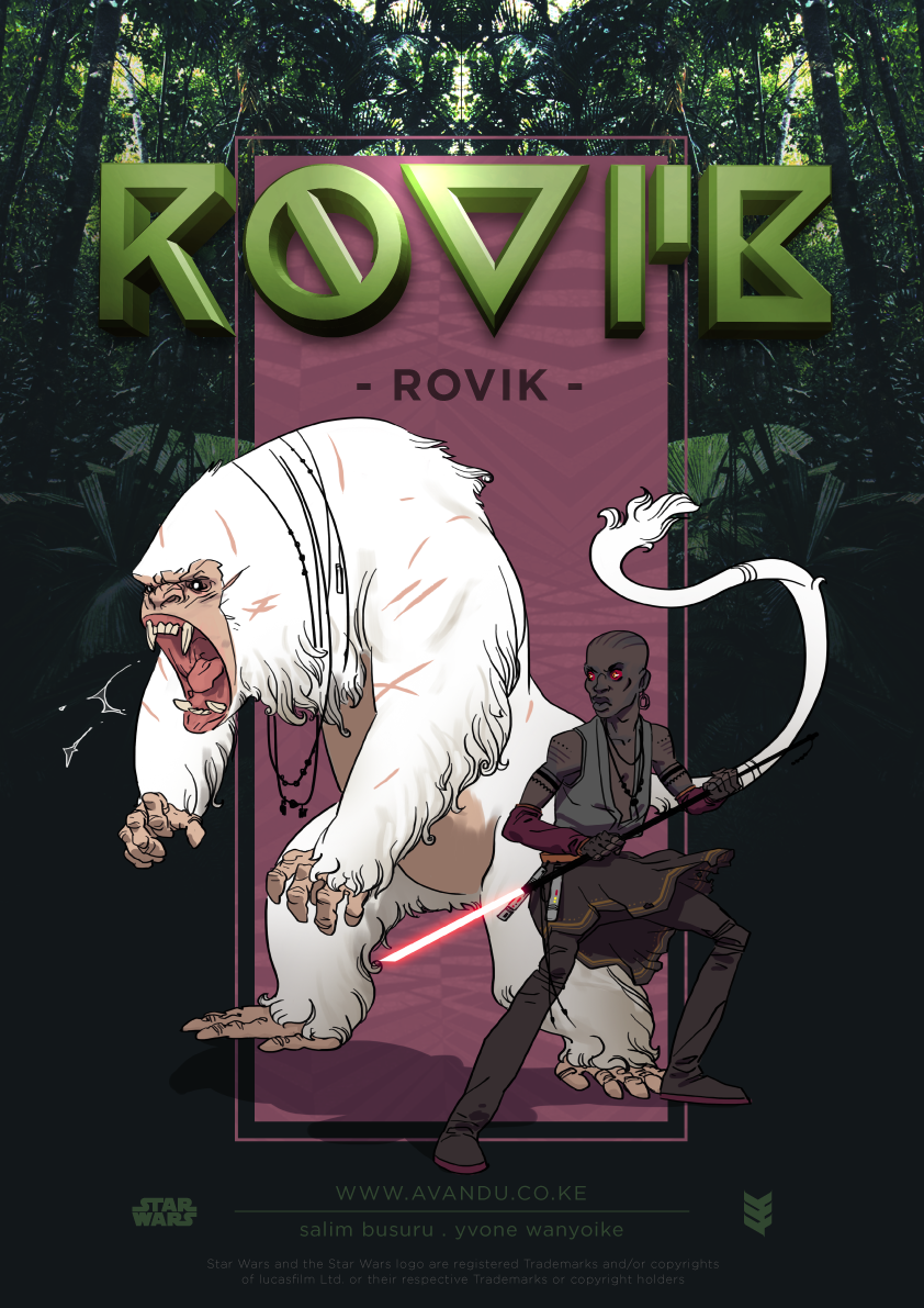 Rovik Cover illustrated by Salim Busuru - Avandu Core