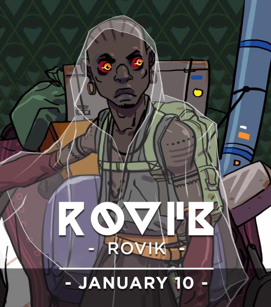 Rovik, galactic immigrant