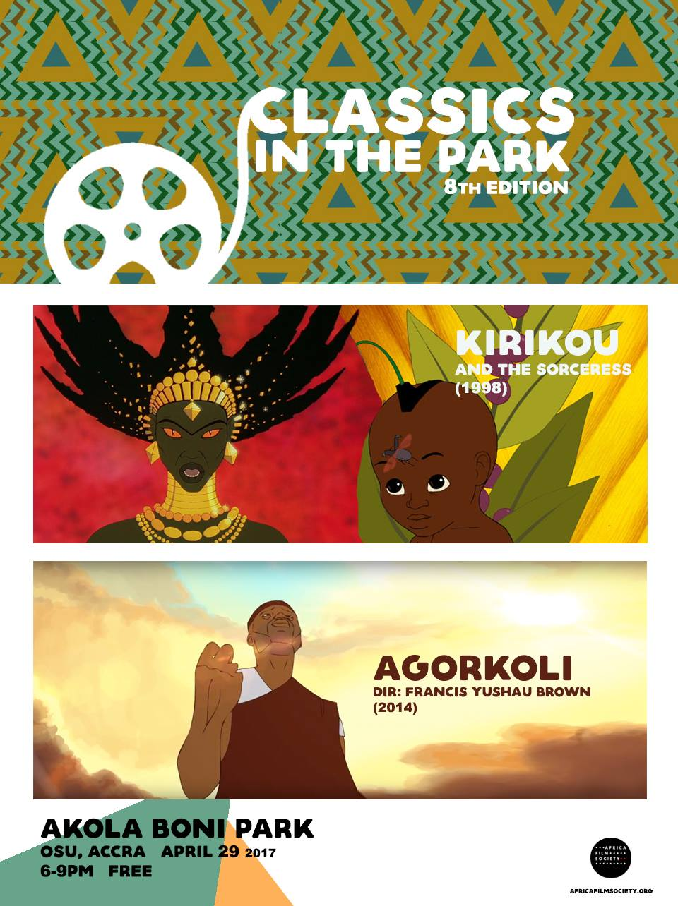 8th Classics in the Park poster.