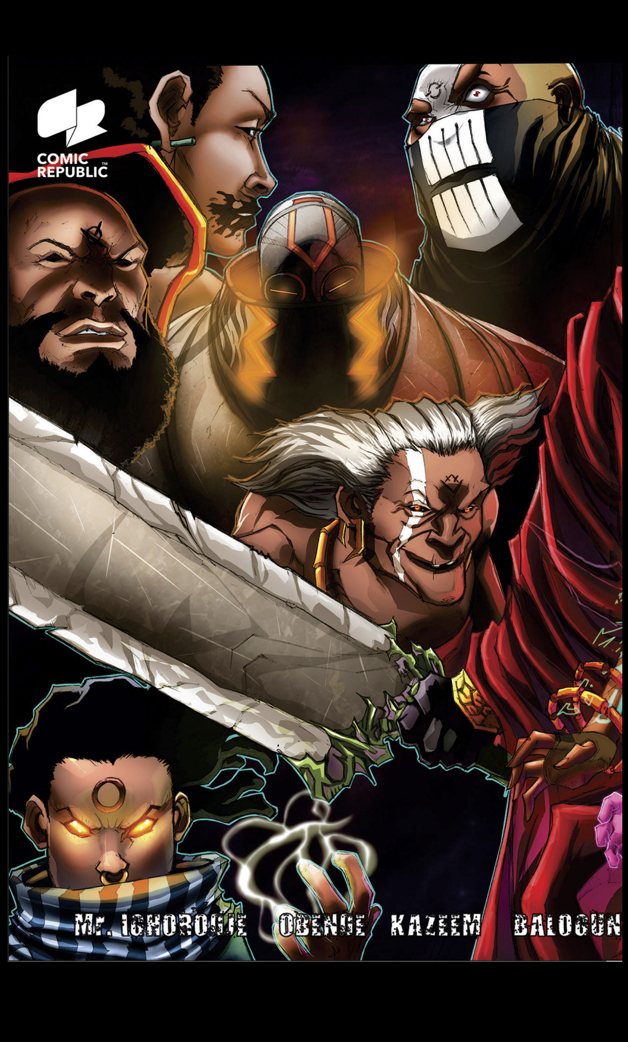 Cover of Avonome published by Comic Republic