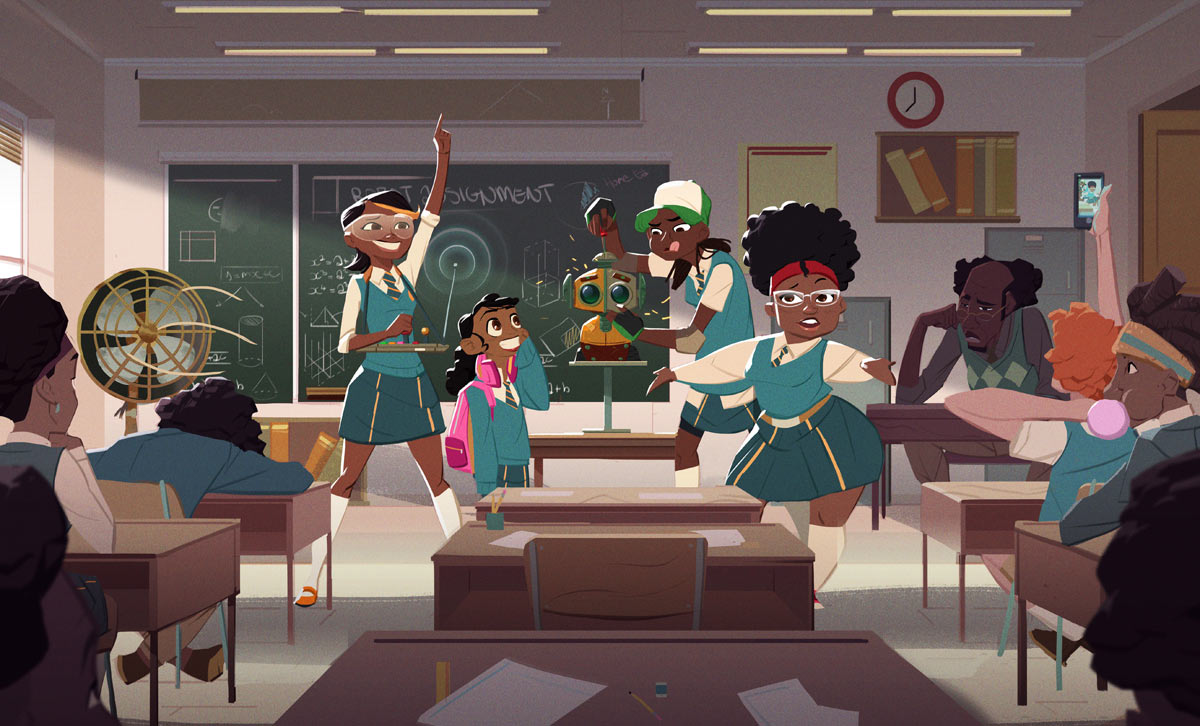 Mama K's Super 4, African Animation from Zambia