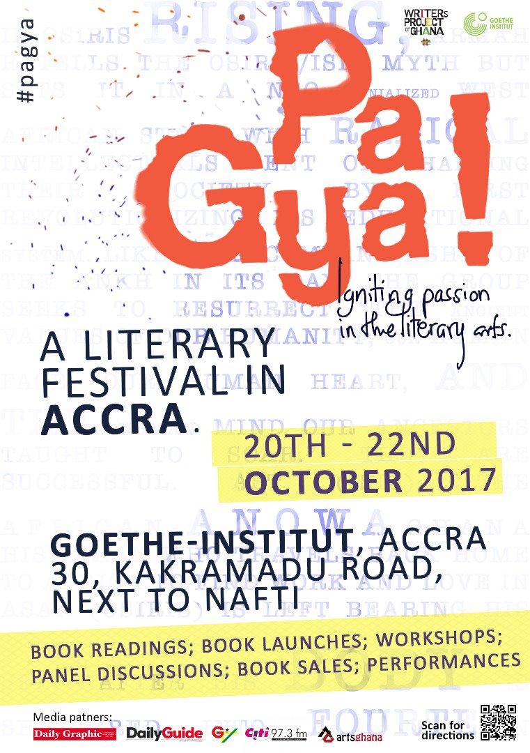 Pa Gya! A Literary Festival In Accra