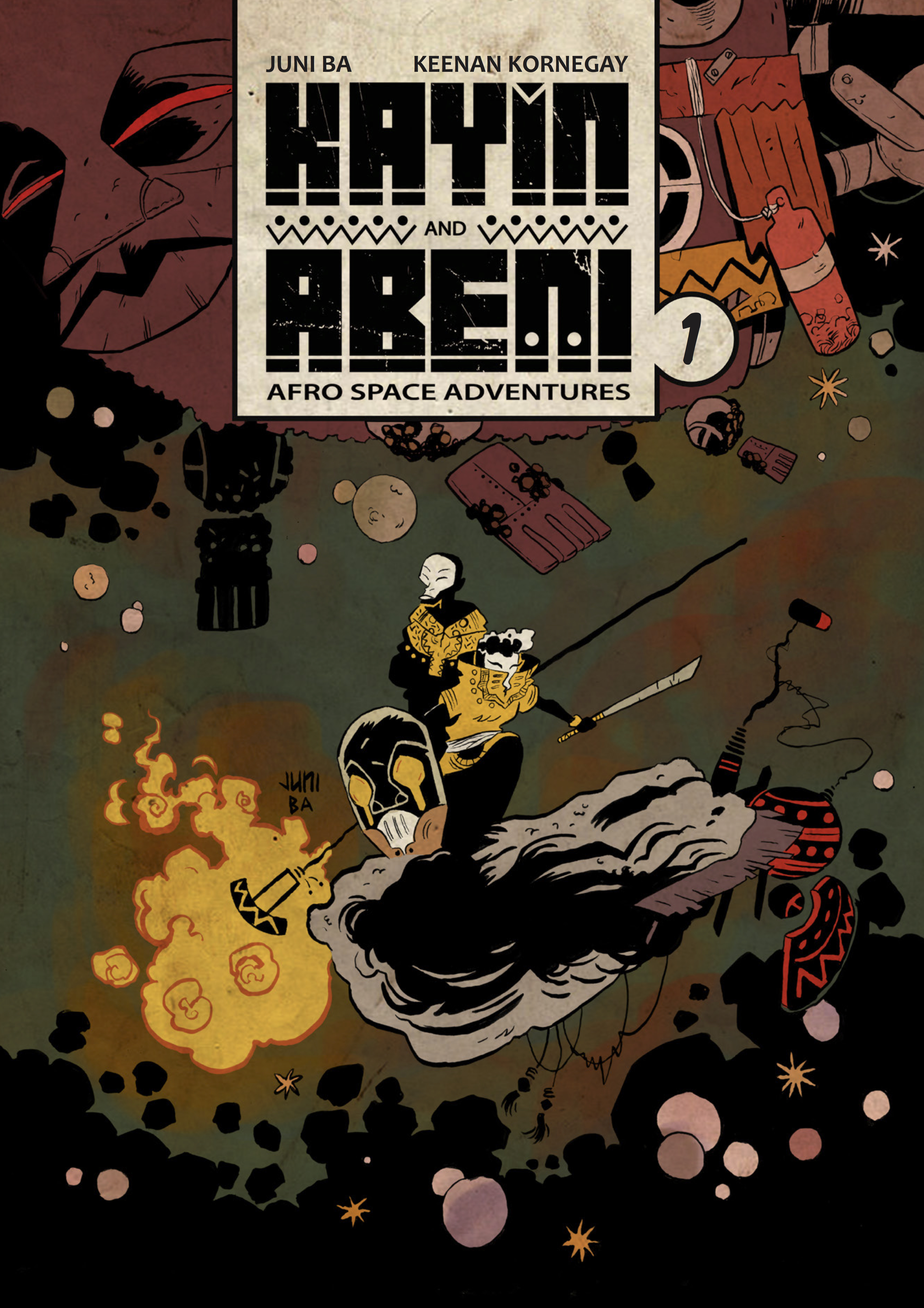 Conversations With Juni Ba On His Afrofuturist Space Adventure Comic Kayin And Abeni