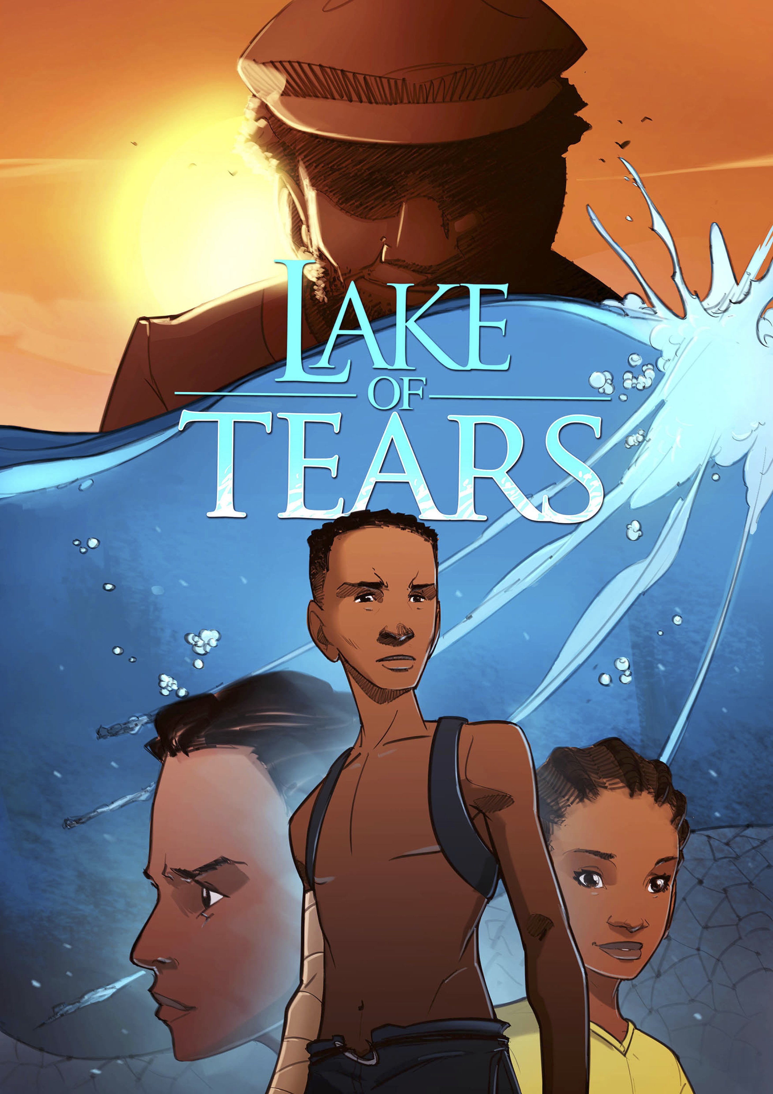Lake of Tears Dark Waters Cover
