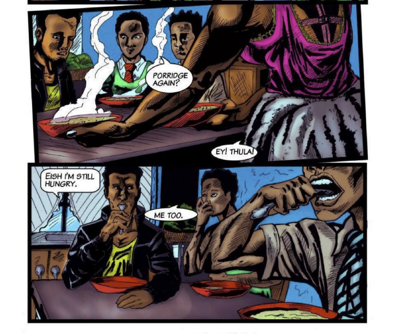 Themba from panel
