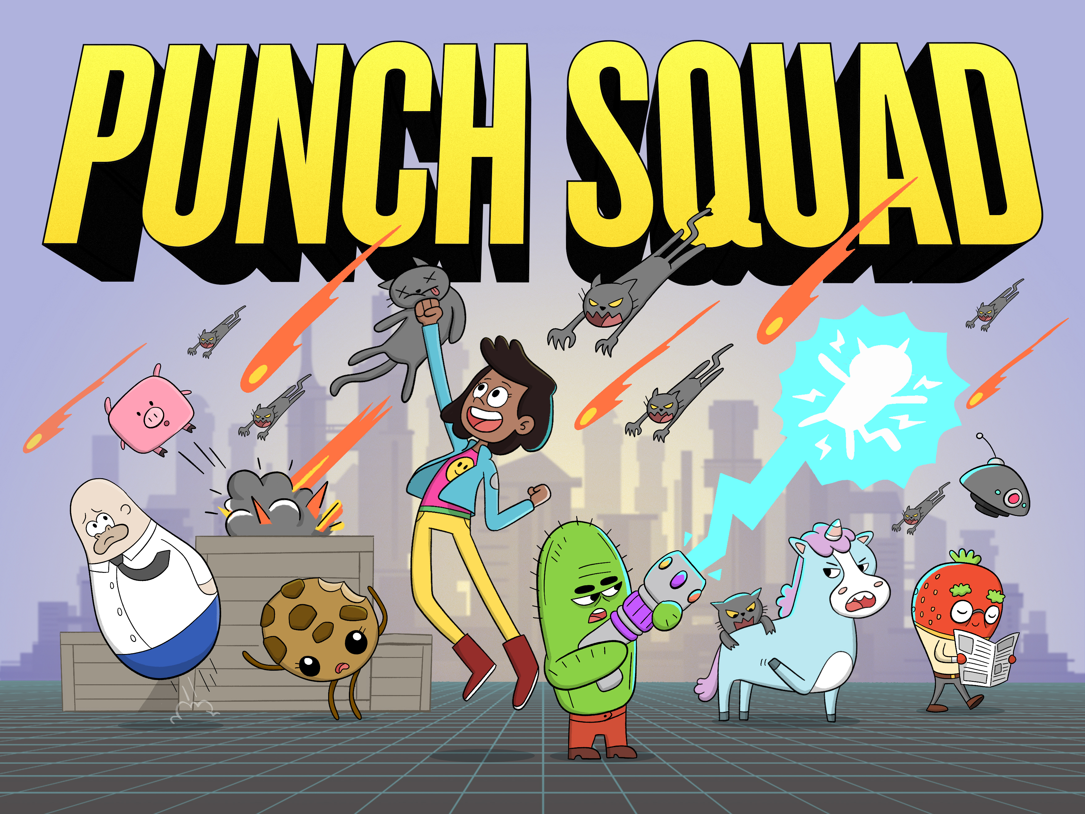Punch Squad by Punch Monkey Studios