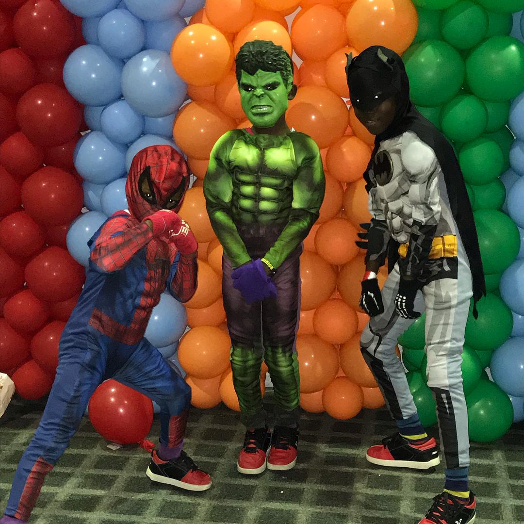 Kids Cosplaying at Lagos Comic Con 2018