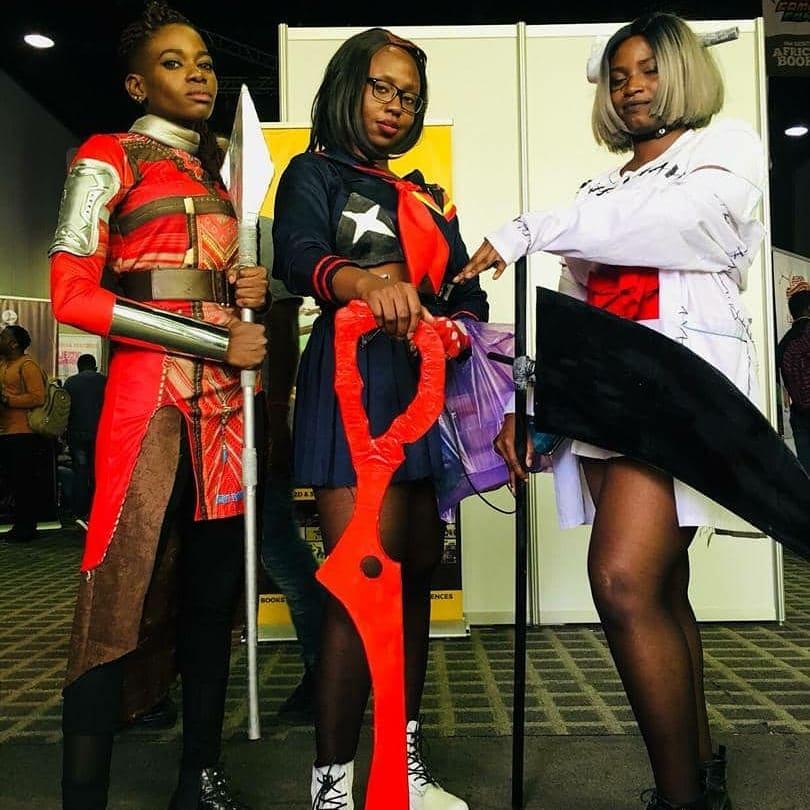 Cosplay at Lagos Comic Con 2018
