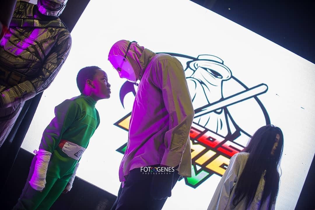 Rock Lee vs Jason at Lagos Comic Con 2018