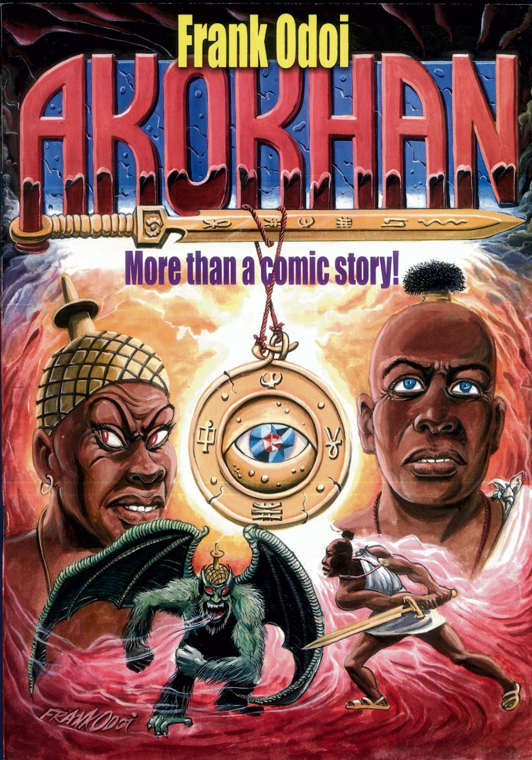 cover of akokhan more than a comic story