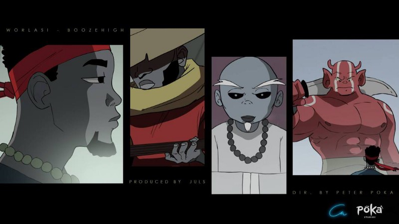 Decoding Booze High: An Animated Music Video Directed by Poka Arts
