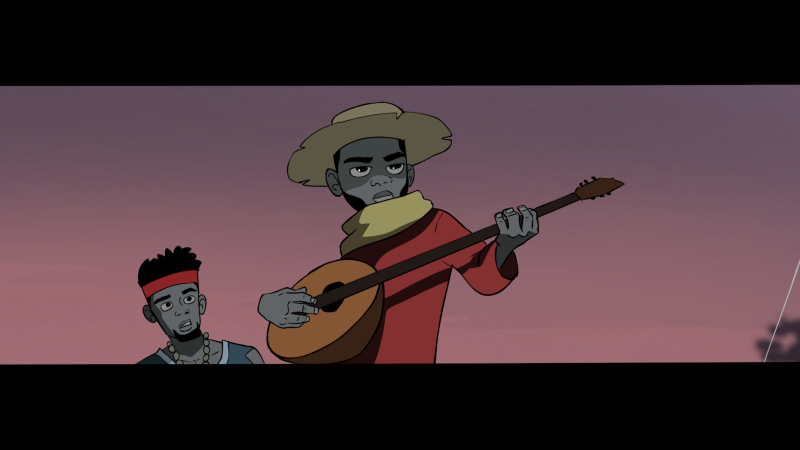 DJ Juls rescues Worlasi in the Poka animated music video for Booze High