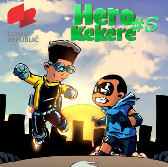 Cover of Hero Kekere by Comic Republic