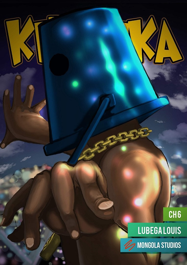 Kibuuka, a comic by Louis Lubega (Mongola Studios)