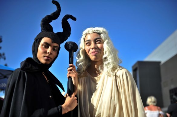 Comic Con Africa cosplay