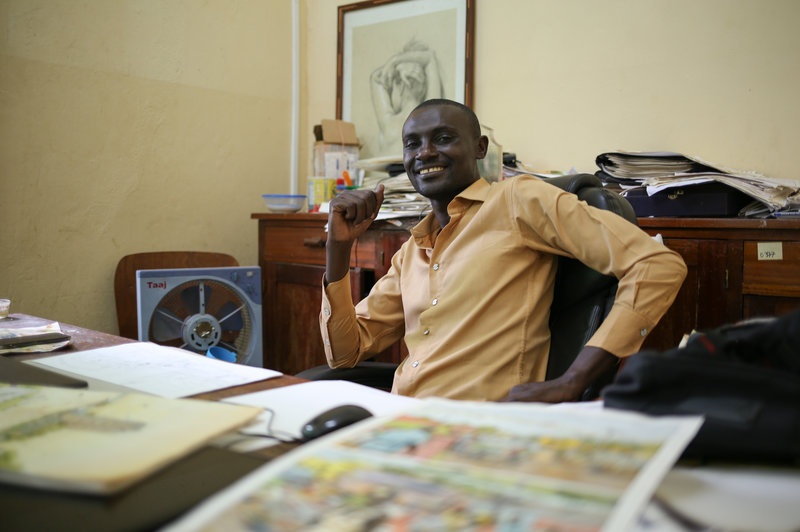 How Didier Kassai Is Saving Lives With Comic Books in the Central African Republic