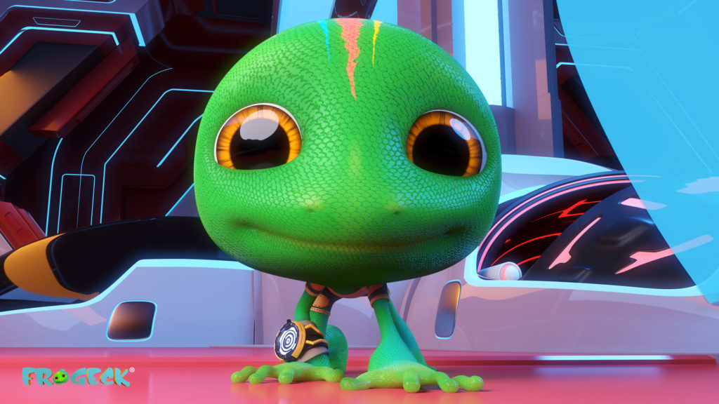 Frogeck wallpaper by Nigerian animation studio, Anthill Productions