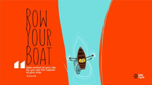 Row row your boat nursery Rhymes with ed