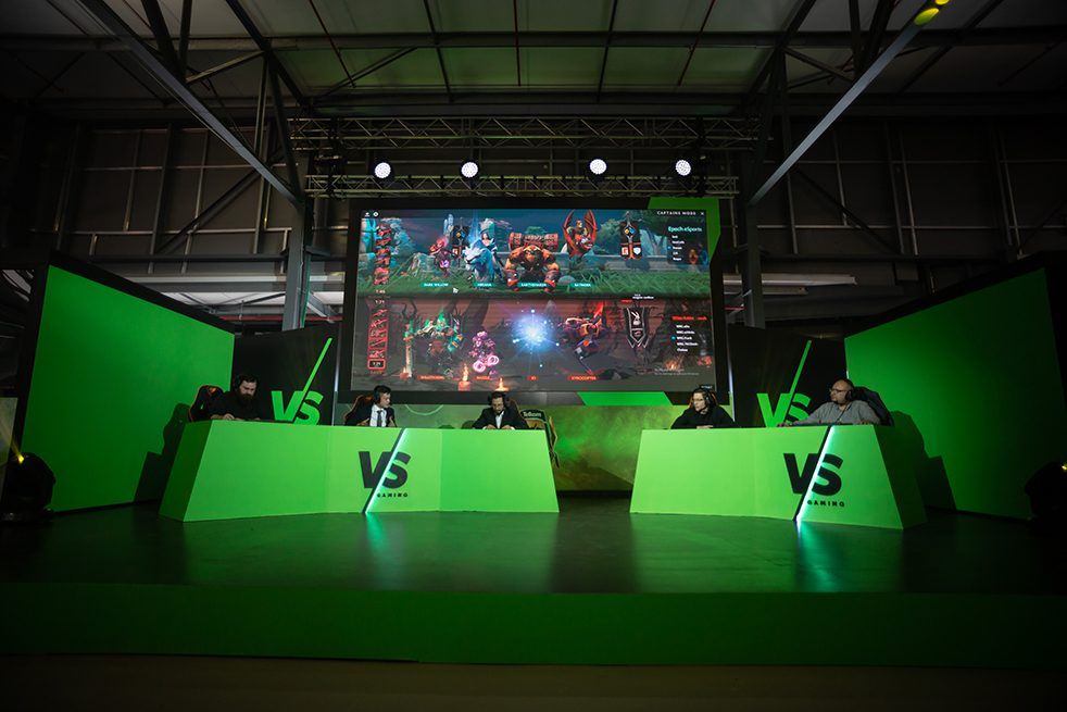 esports gaming at comic con south africa