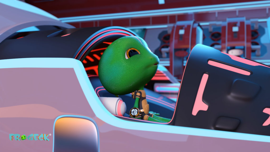 Frogeck a proposed 3D animated short by Anthill Studios, who are championing animation in africa
