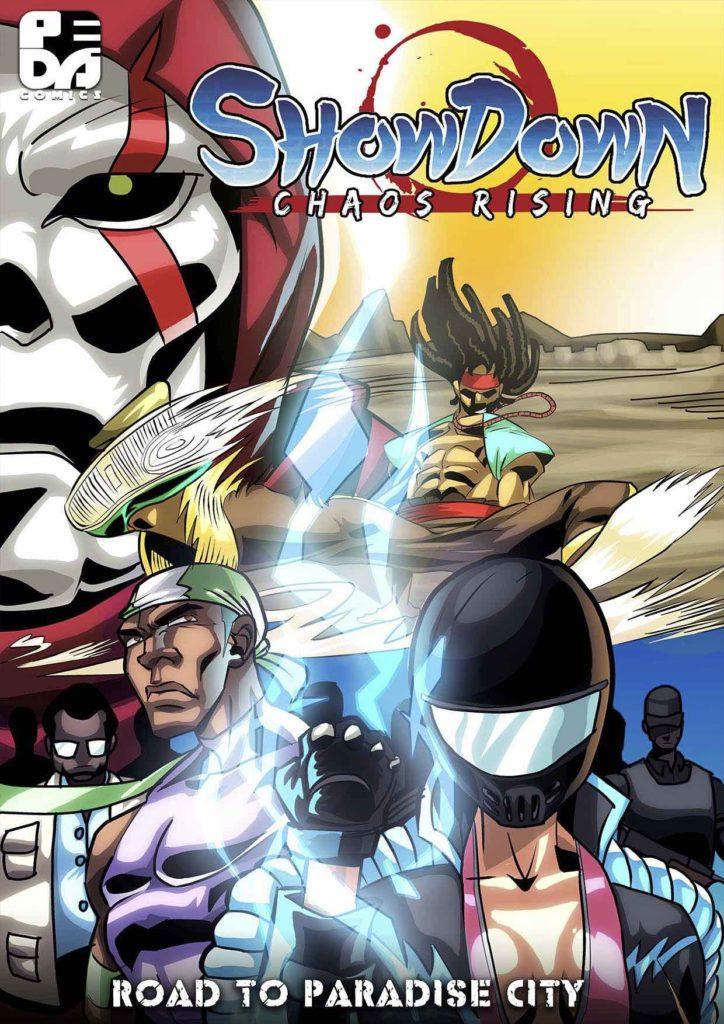 Showdown: Chaos Rising African comic book