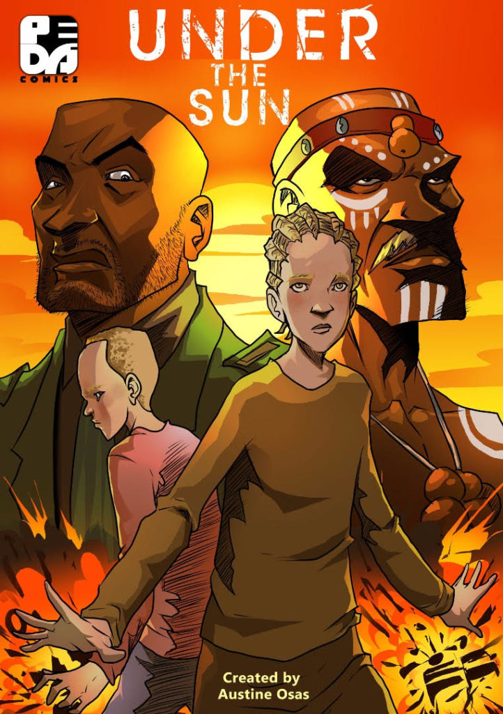 Under the Sun african comic cover
