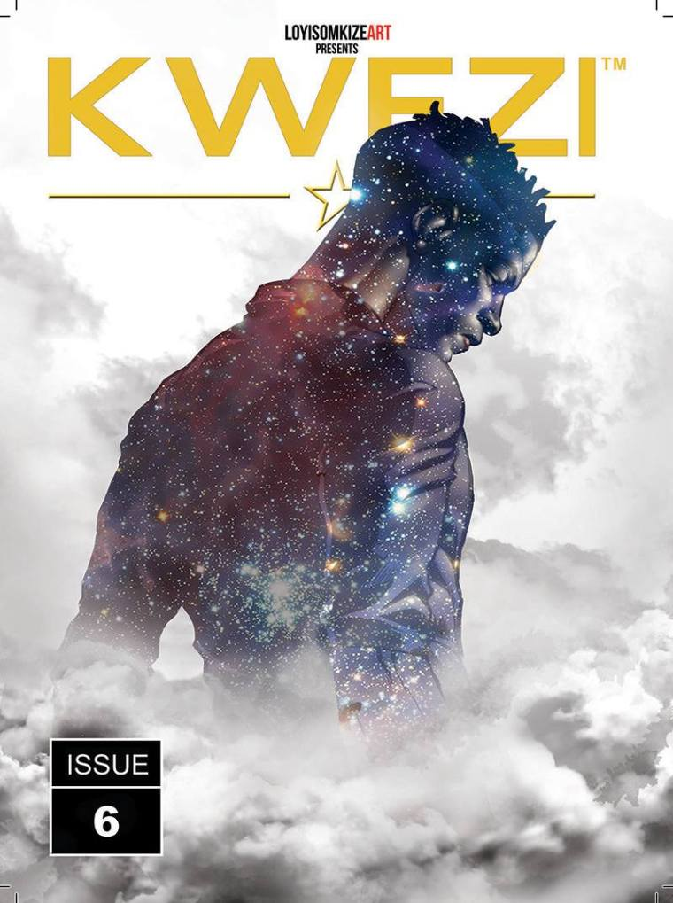 Cover of Kwezi issue 6