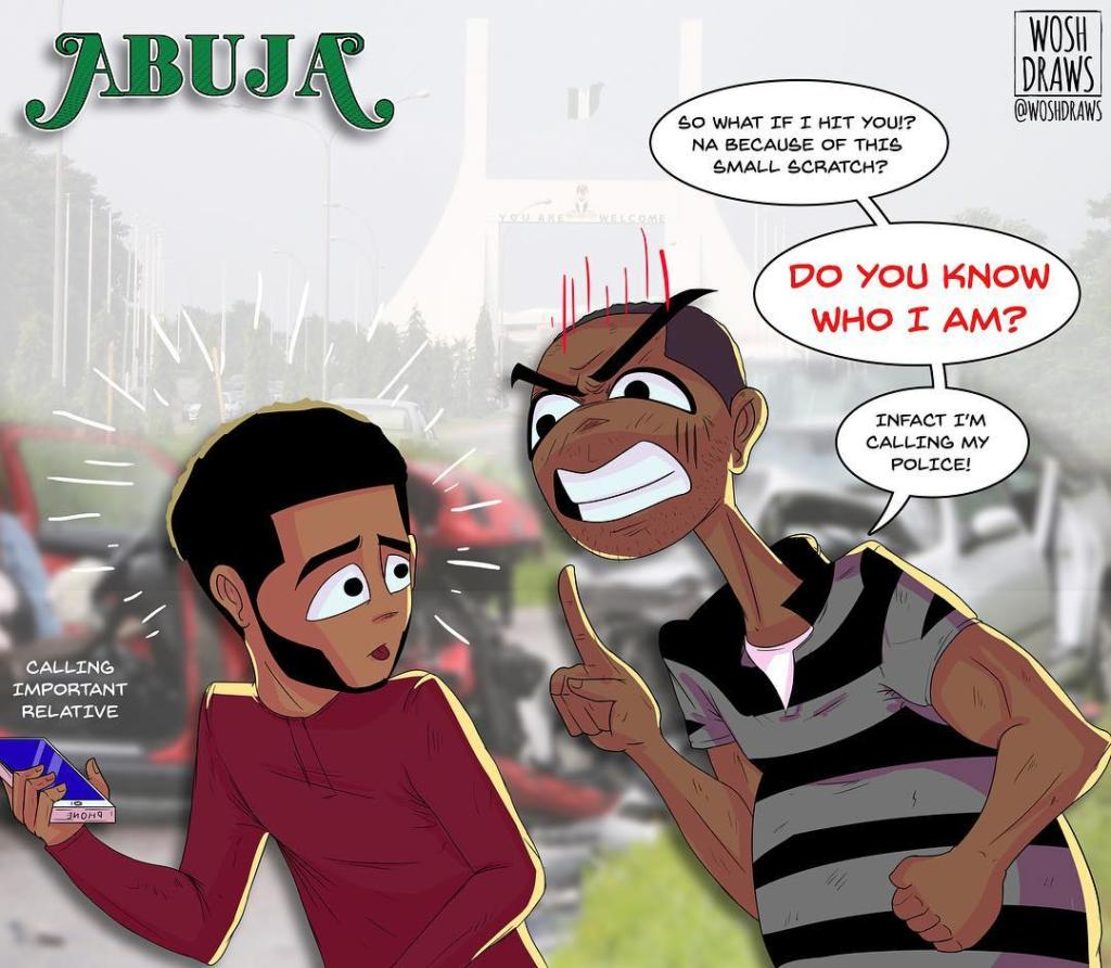 Abuja by Wosh Draws