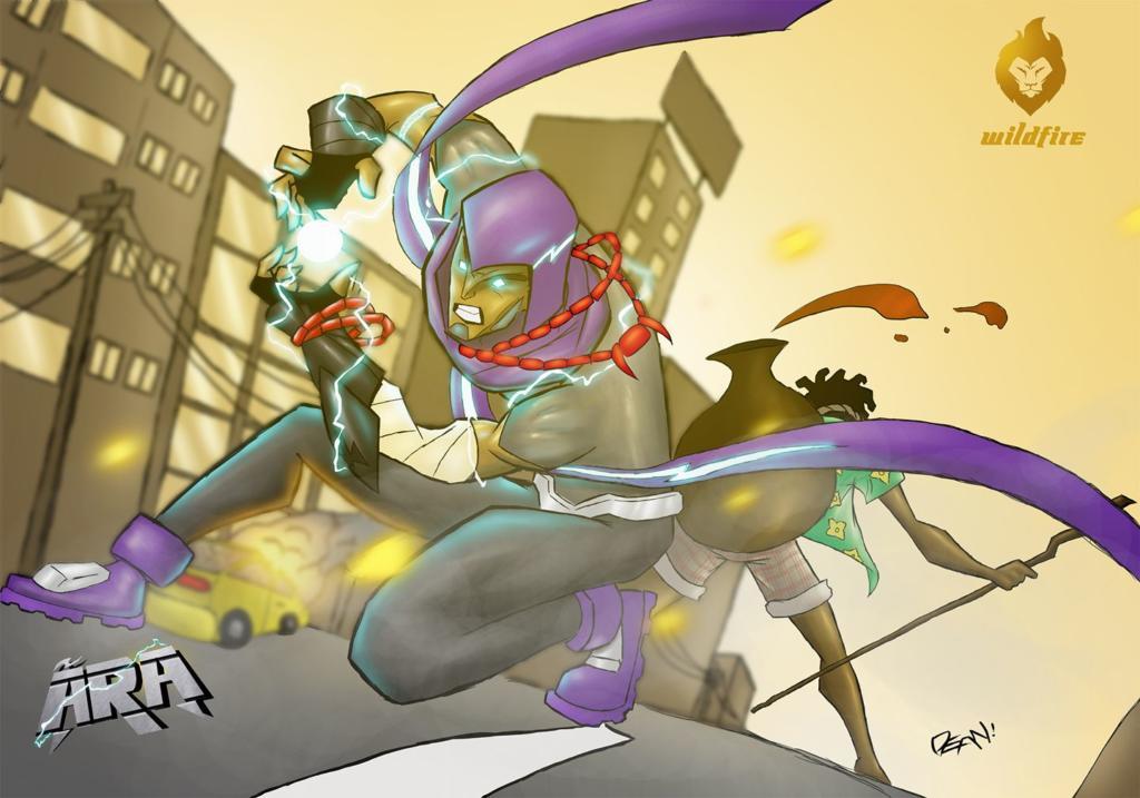 Ara by Wildfire Comics