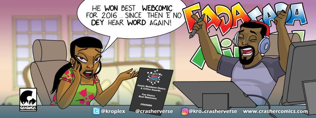 Crasher Comics by Kro Onimole
