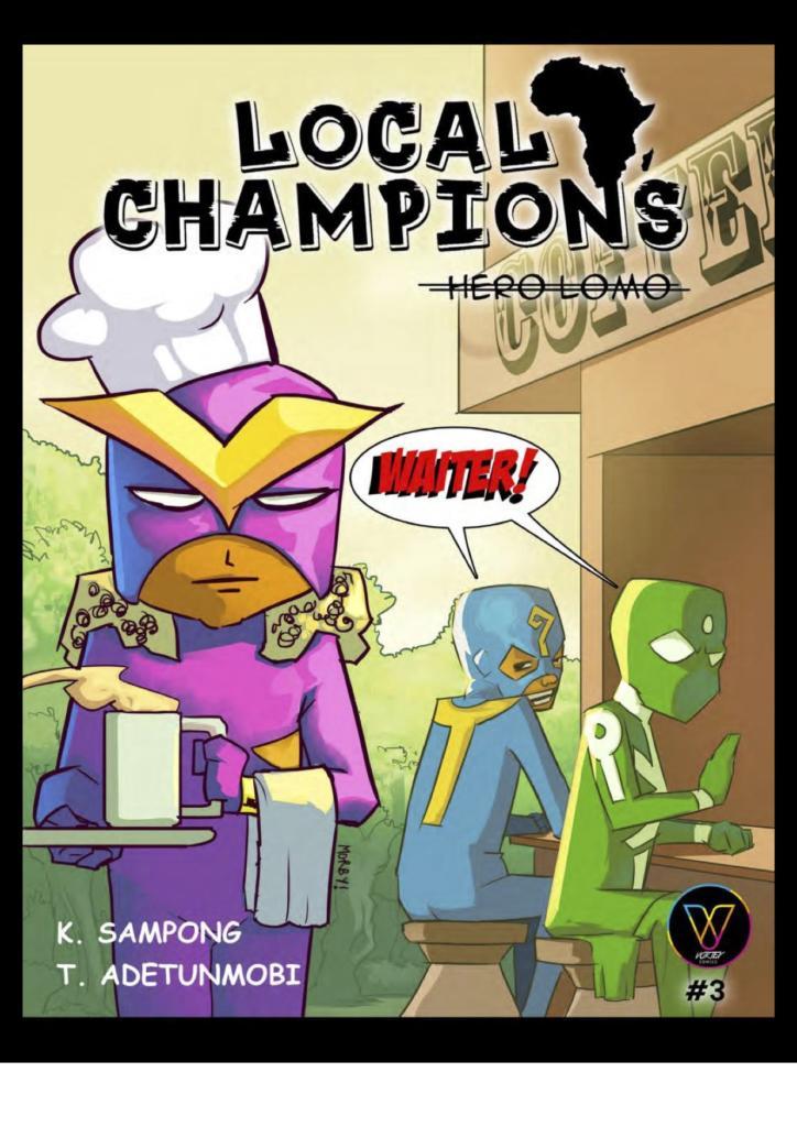 Local Champions comic cover