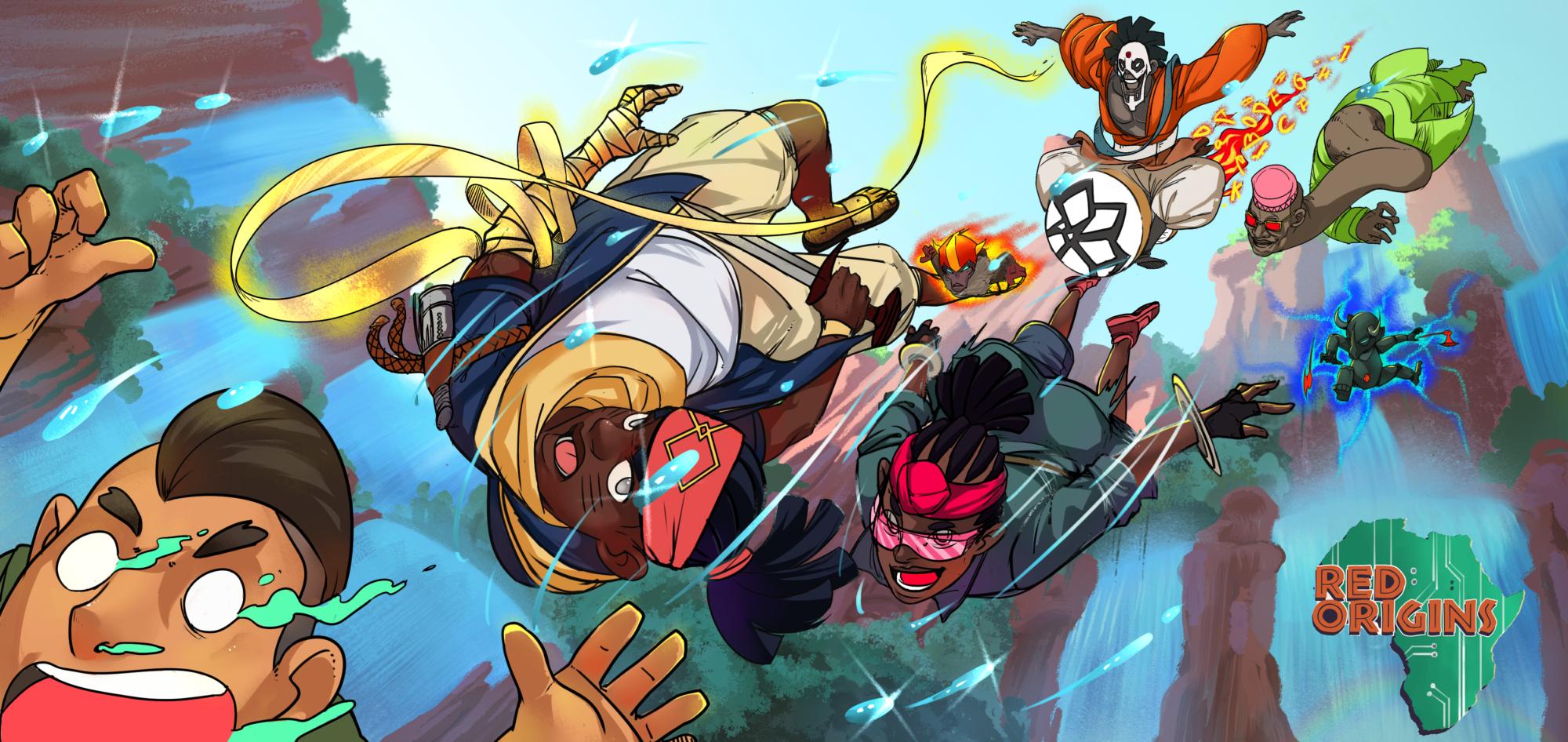 Red Origins comic book by Kolanut Productions