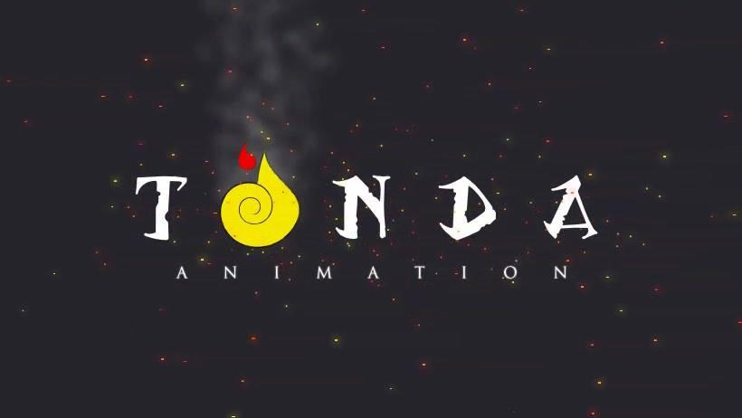 Wallpaper of Samuel Kabali's Tonda Animation, showing its logo and a dark background.