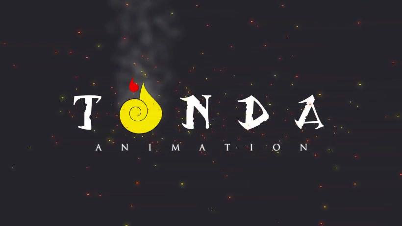 Wallpaper of Samuel Kabali's Tonda Animation, showing its logo and a dark background.
