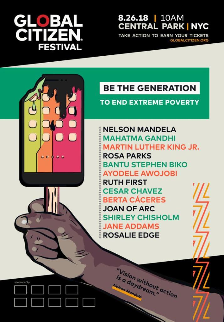 Be the Generation Global Citizen submission by @gufodesign