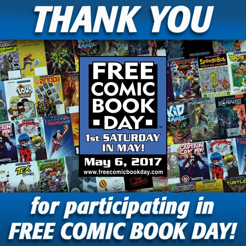Free Comic Book Day 2017