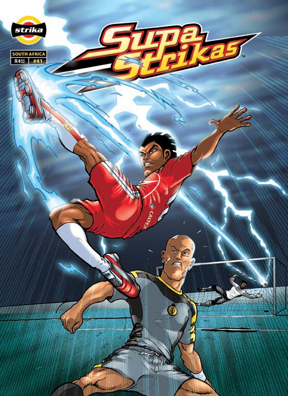 Supa Strikas South African comic and animation