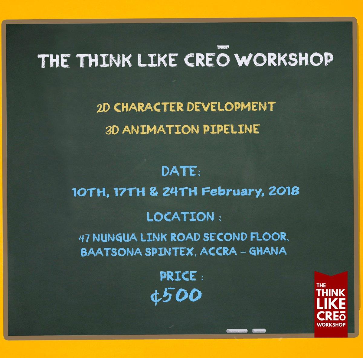 Think Like Creō Animation Workshop