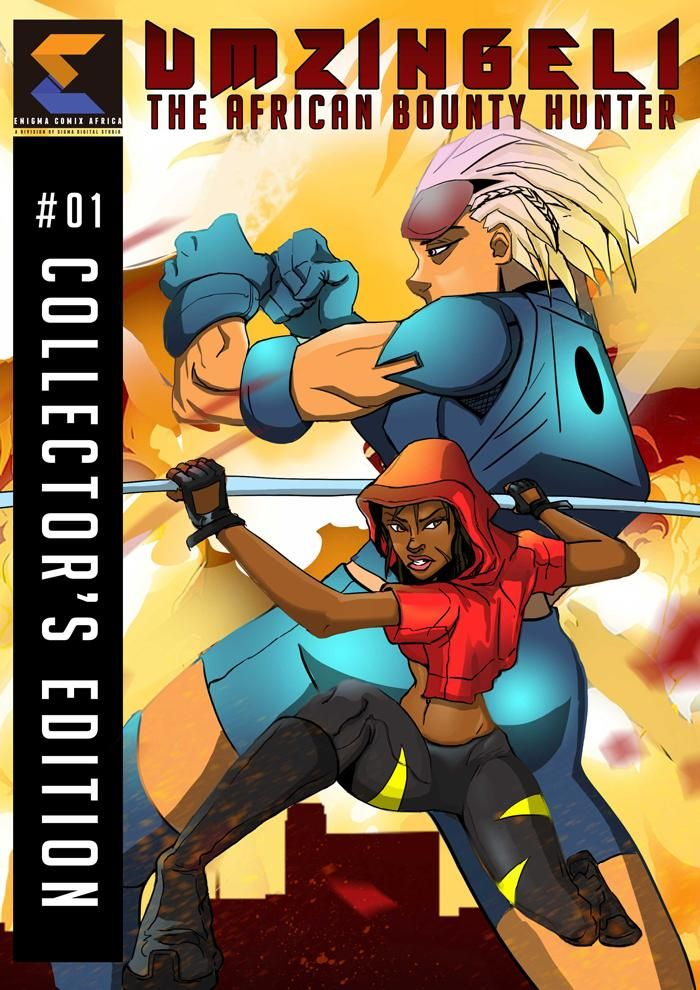 Umzingeli African Bounty Hunter great comic to read on international day of the girl child